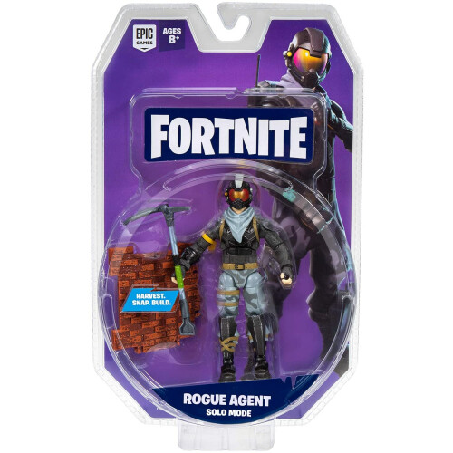 Fortnite Solo Mode 4 inch Figures - Rogue Agent