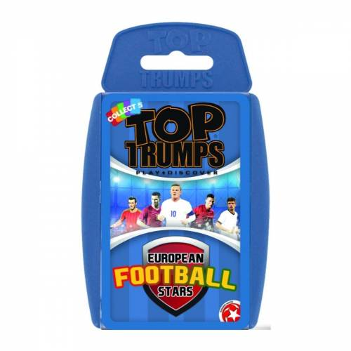 Top Trumps European Football Stars