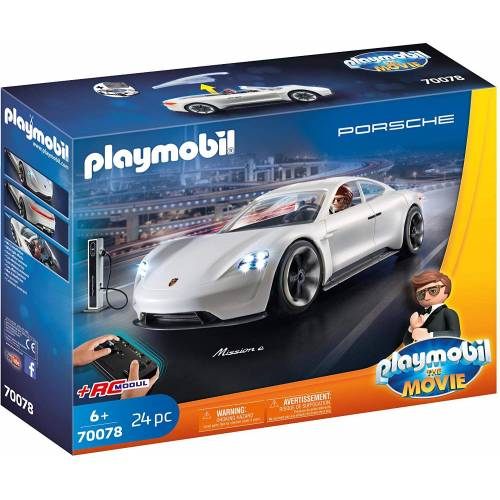 Playmobil 70078 The Movie Rex Dasher's Porsche Mission E