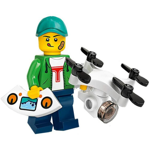 Lego 71024 Minifigure Series 20 Drone Boy