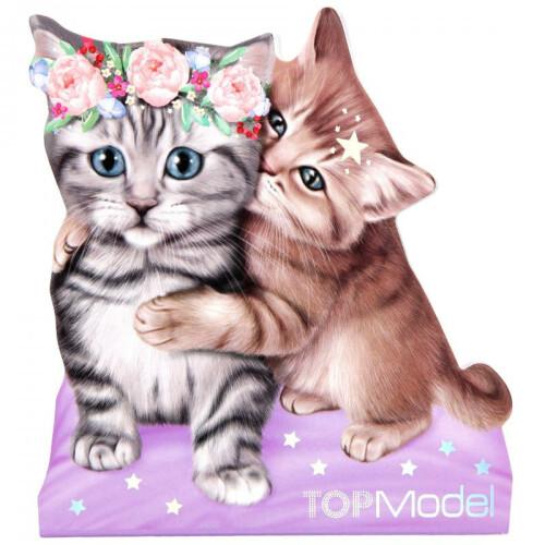 Depesche Top Model Pets Memo Pad - 2 Kittens