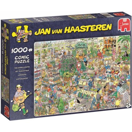 Jan Van Haasteren The Garden Centre 1000pc Jigsaw Puzzle