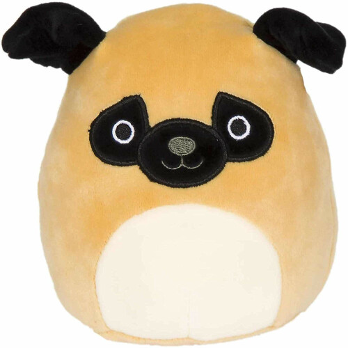 Squishmallows 7.5 Inch Plush - Prince the Pug