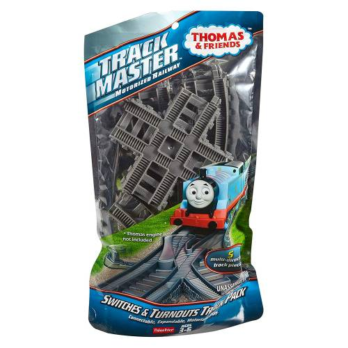 Thomas & Friends Trackmaster Switches & Turnouts Track Pack