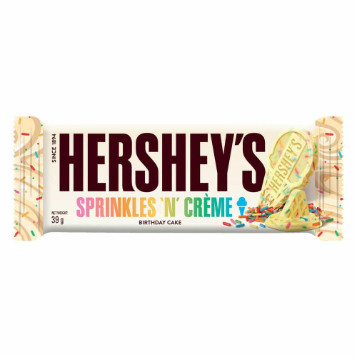 Hershey's Sprinkles 'N' Creme Birthday Cake Bar