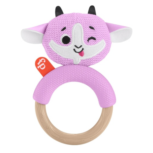 Fisher Price Knit Teether Goat
