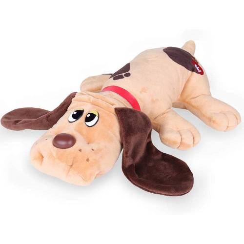 Pound Puppies Classic 17 Inch - Light Brown with Dark Brown Spots