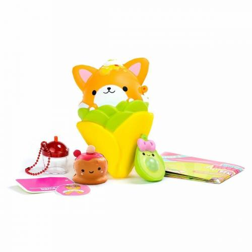 Smooshy Mushy Bentos - Sassy Fussy Fox