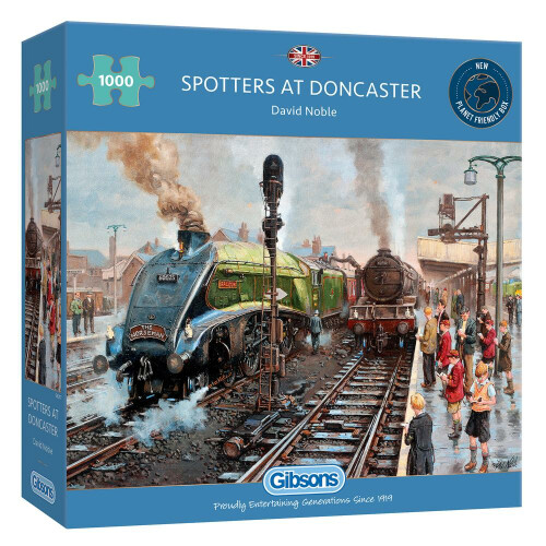 Gibsons Spotters At Doncaster 1000pc Puzzle