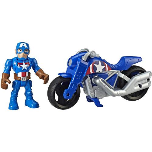 Marvel Super Hero Adventures - Captain America Victory Racer