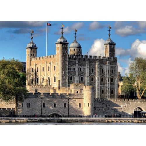Falcon de luxe Tower of London 500pc Jigsaw Puzzle
