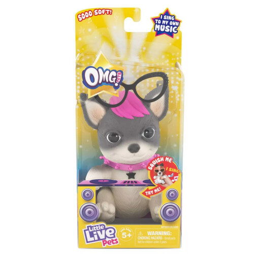 Little Live Pets OMG! Pets Have Talent - Punk Rock