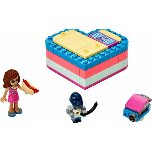 Lego 41387 Friends Summer Heart Box - Olivia