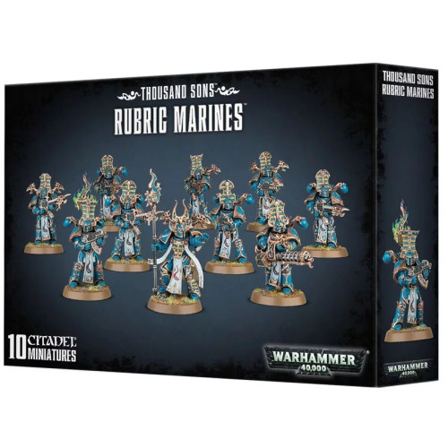 Warhammer 40,000 - Thousand Sons Rubric Marines