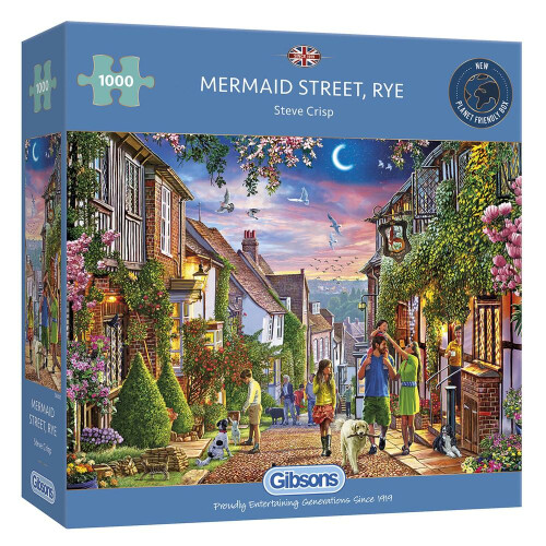 Gibsons Mermaid Street, Rye 1000pc Puzzle