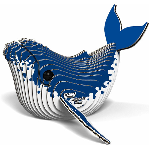 Eugy - 3D Model Craft Kit - Humpback Whale