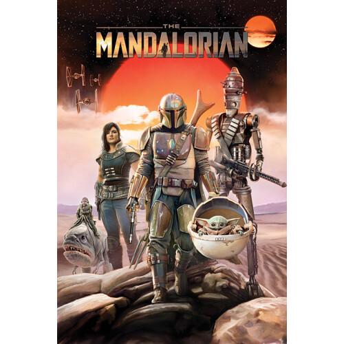 Maxi Posters - Star Wars: The Mandalorian (Group)