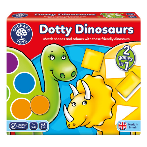 Orchard Dotty Dinosaurs