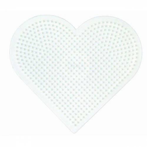 Hama Beads Single Pegboard 233 Large Heart