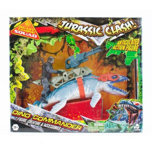 Jurassic Clash Dino Commander Liopleurodon Toys N Tuck