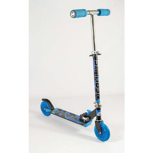Nebulus Folding Scooter - Black & Blue