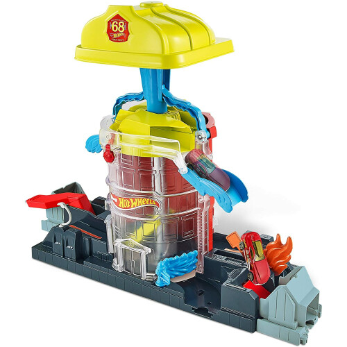 Hot Wheels City Super Fire House Rescue