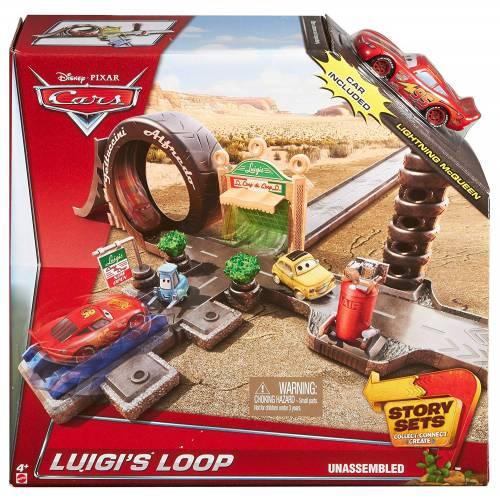 Disney Pixar Cars Story Sets - Luigi's Loop