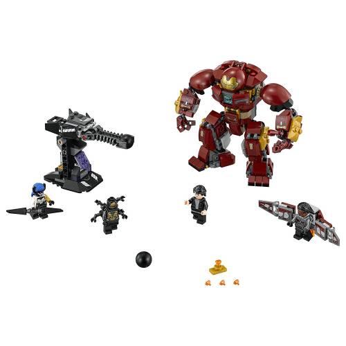 Lego 76104 Super Heroes Avengers Infinity Wars The Hulkbuster Smash Up
