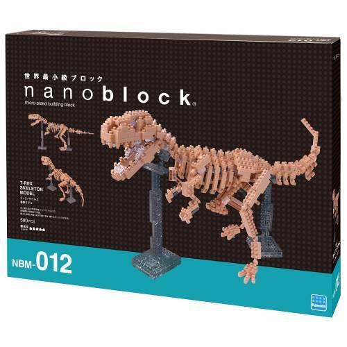 Nanoblock T-Rex Skeleton Model NBM-012