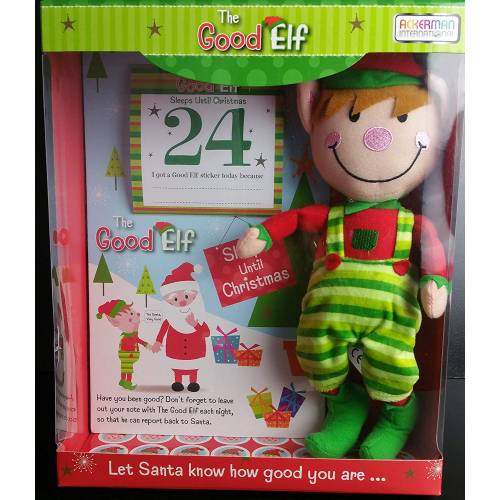 The Good Elf Plush Toy and Good Behaviour Reward Set