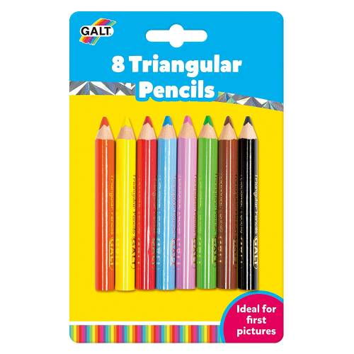 Galt Triangular Pencils - 8 Pieces