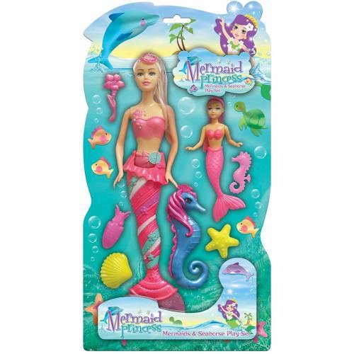 Mermaid Princess Playset - Pink