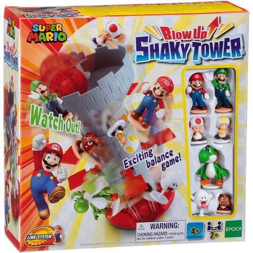 Super Mario Game - Blow Up Shaky Tower