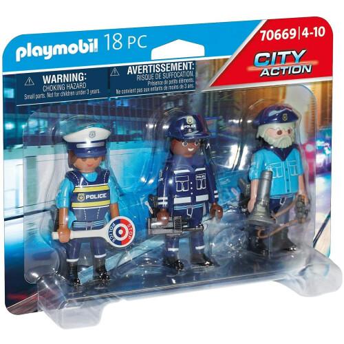 Playmobil  70669 City Action Police Figure Set