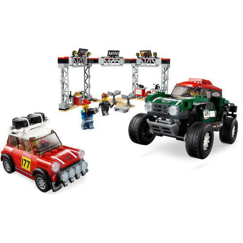 Lego 75894 Speed Champions 1967 Mini Cooper S Rally And 2018 Mini John Cooper Works Buggy