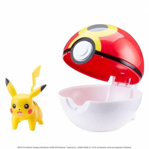 Pokemon Clip 'n' Go - Pikachu & Repeat Ball