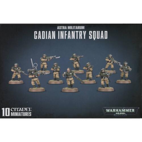 Warhammer 40,000 - Astra Militarum Cadian Infantry Squad