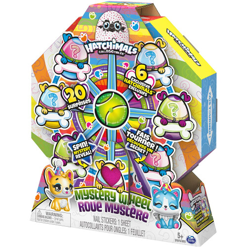 Hatchimals Colleggtibles - Mystery Wheel - Puppy Party
