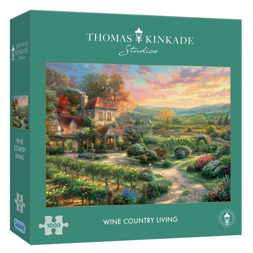 Gibsons Thomas Kinkade Wine Country Living 1000pc Puzzle