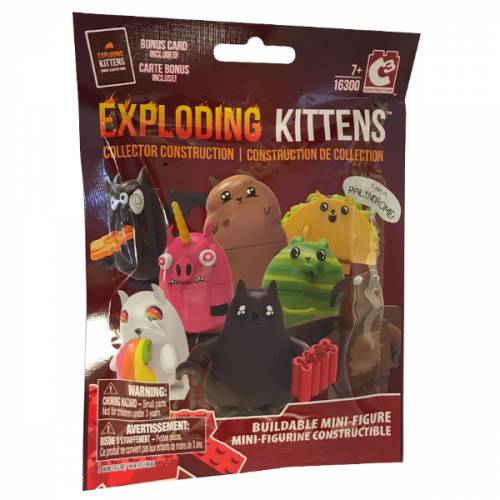 Exploding Kittens Buildable Mini-Figure Blind Bag