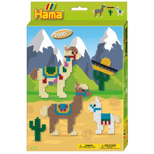 Hama Beads 3443 Gift Box Alpaca's