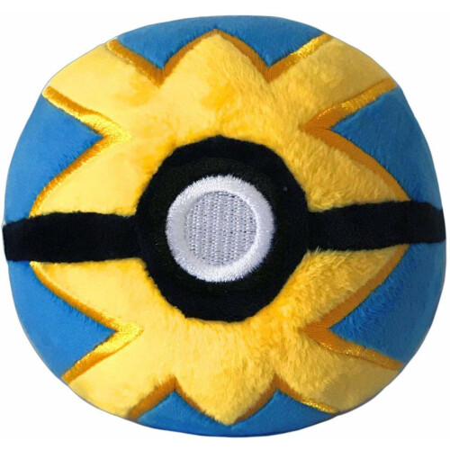 Pokemon 4 Inch Plush - Quick Ball
