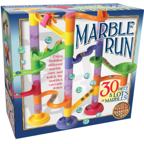 House of Marbles - 30 Piece Marble Run