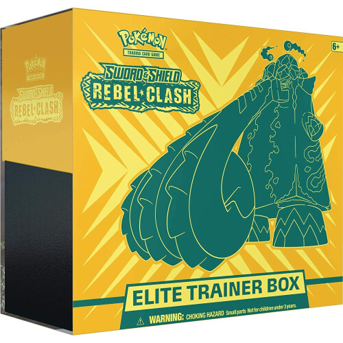 Pokemon TCG Sword & Shield Rebel Clash Elite Trainer Box