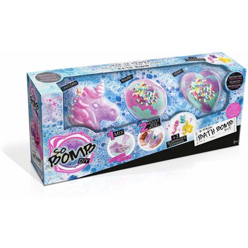So Bomb DIY 3 Pack Bath Bomb Kit - Assorted Shapes
