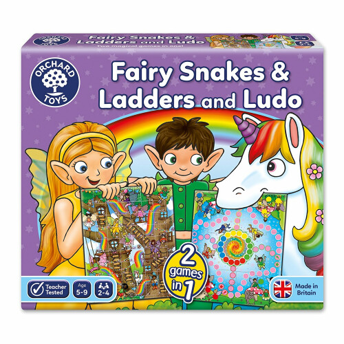 Orchard Fairy Snakes and Ladders with Ludo