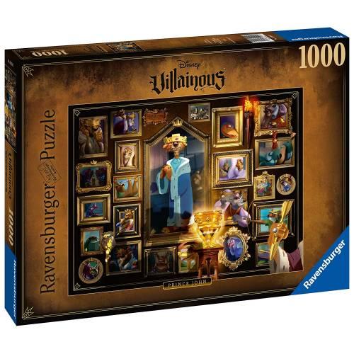 Ravensburger Disney Villainous 1000pc Puzzle - Prince John