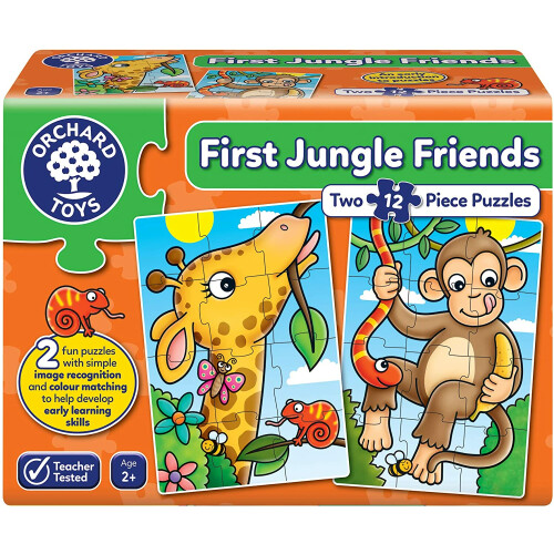 Orchard First Jungle Friends Jigsaw Puzzles