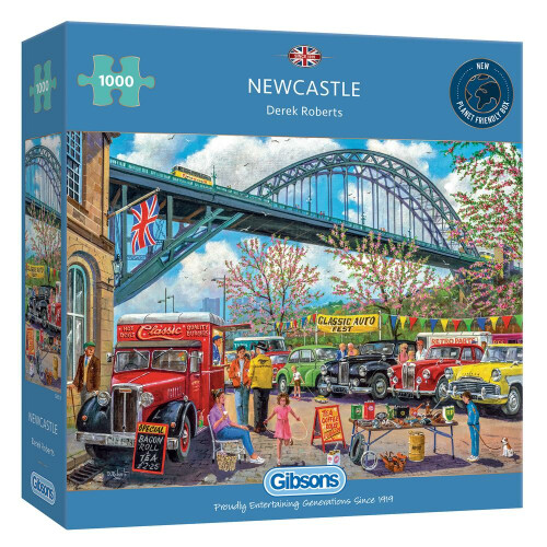Gibsons Newcastle 1000pc Puzzle