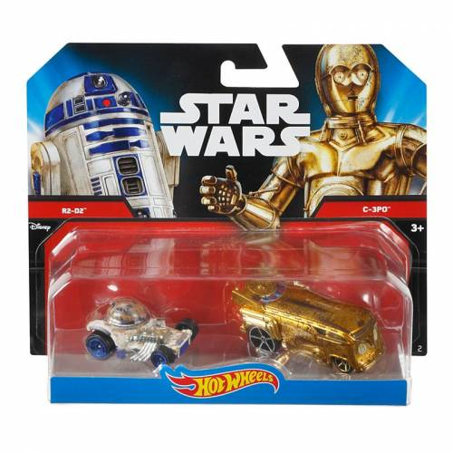 Hot Wheels Star Wars R2-D2 and C-3PO